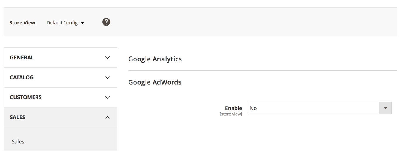Turn Off AdWords Tracking Tag